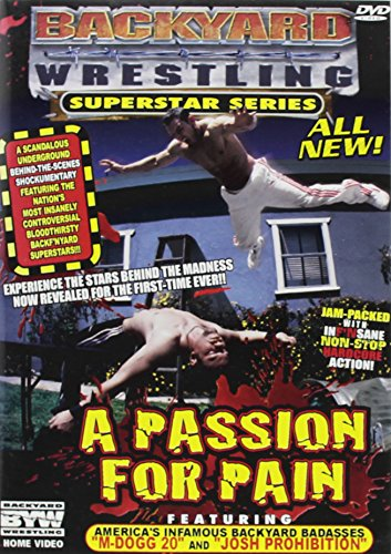 Backyard Wrestling Superstar Series No. 1 Passion Clr Nr