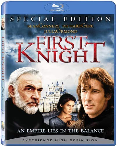 First Knight Connery Gere Blu Ray Ws Special Ed. Pg13