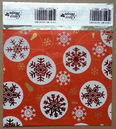 Classy Wraps Red Snowflakes CD