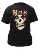 T Shirt Md Misfits Bloody Skull
