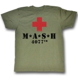 T Shirt Md M.A.S.H. Red Cross