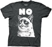 T Shirt Lg Grumpy Cat No