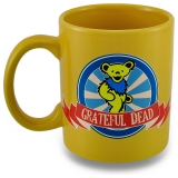 Mug Grateful Dead Dancing Bear Yellow