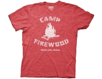 T Shirt Xl Wet Hot American Summer Camp Firewood