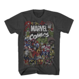 T Shirt Lg Marvel Comics Crew