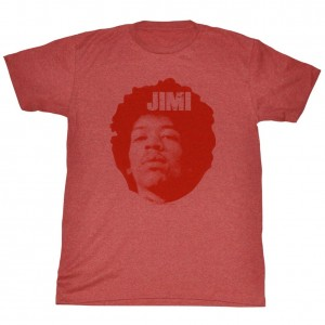 T Shirt Lg Jimi Hendrix Jim Head