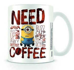 Mug Minions Need Coffee