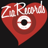 Zia Records T Shirt Heart Design Size Medium