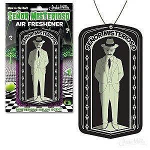 Air Freshener Senor Misterioso