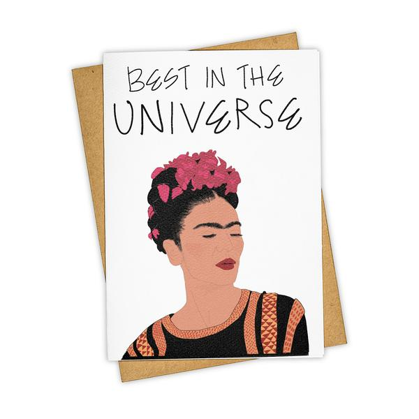 Greeting Card Best In The Universe