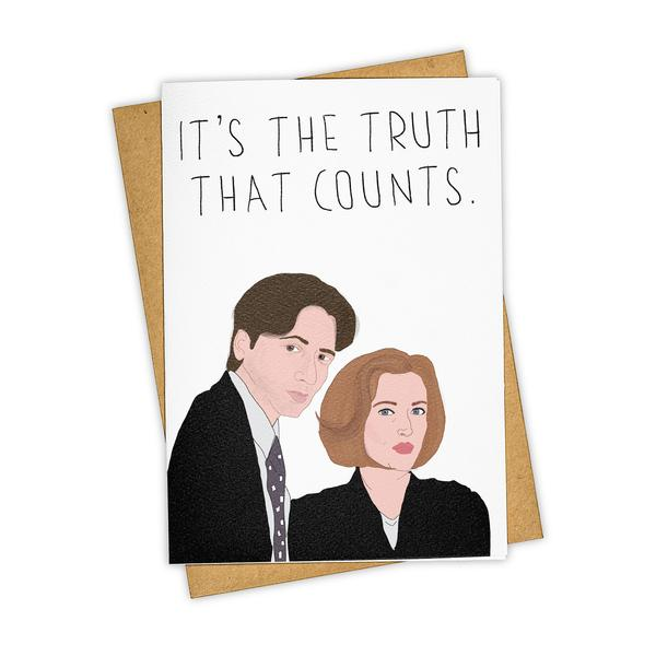 Greeting Card It's The Truth That Counts
