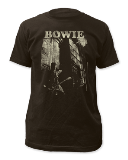 T Shirt Lg David Bowie Guitar