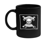 Coffee Mug Pirate Flag