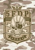 Textile Posters Five Finger Death Punch Camo Skull