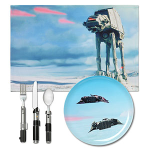 Dinner Set Star Wars Hoth
