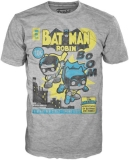 Pop Tee Sm Dc Comics Batman & Robin Comic