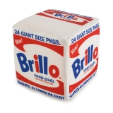 Plush Andy Warhol Brillo Box