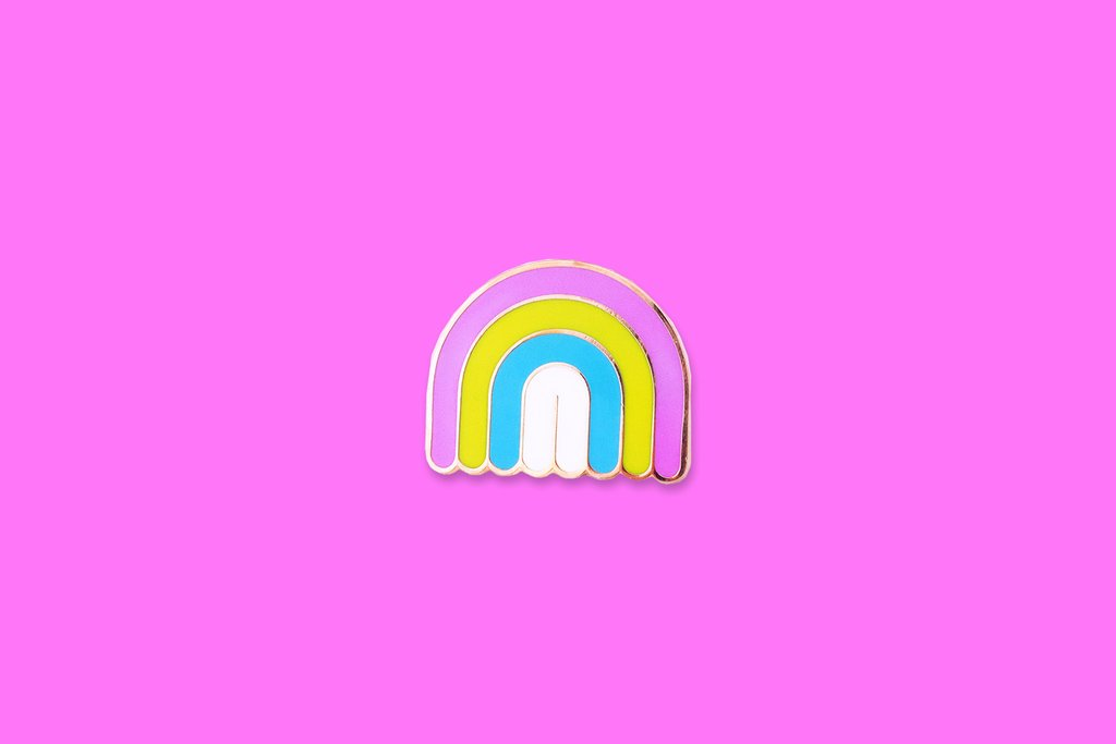 Enamel Pin Mini Rainbow