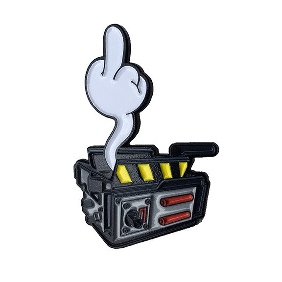 Enamel Pin Ghost Trap