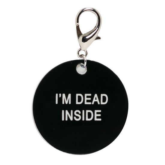 Keychain I'm Dead On The Inside