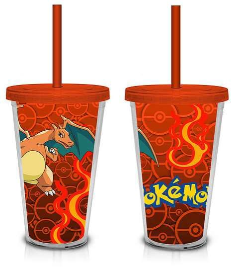 Travel Cup Pokemon Charizard Lenticular