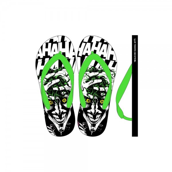 Flip Flops Dc Comics The Joker Small M(6 7) W7 8)