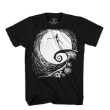 T Shirt Lg Nightmare Before Xmas Spiral Standing
