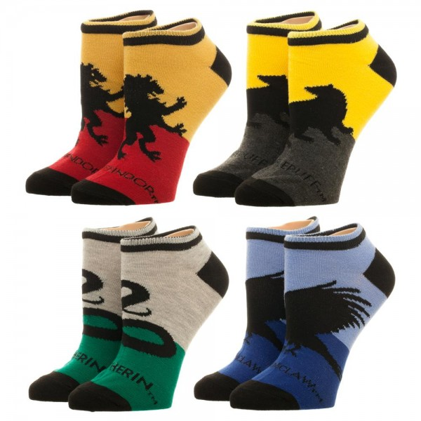 Socks Ankle Harry Potter 4 Pack