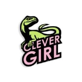 Enamel Pin Clever Girl