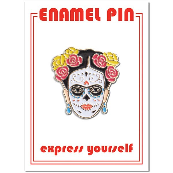 Enamel Pin Frida Day Of The Dead