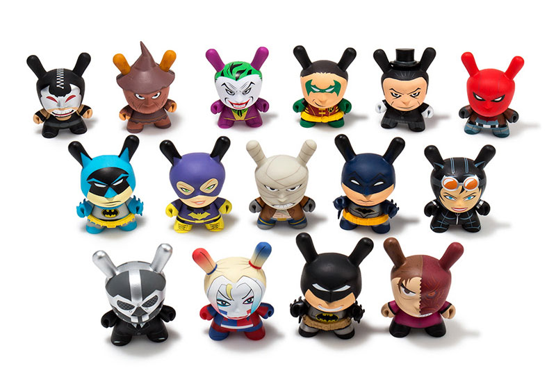 Dunny Dc Comics Batman Vs Kidrobot Blind Box