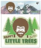 Car Magnet Bob Ross Happy Little Trees
