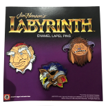 Enamel Pin Set Labyrinth Set Of 3