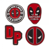 Enamel Pin Set Marvel Deadpool