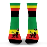 Socks Rasta Flag