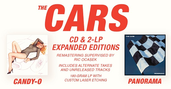 Image result for The Cars - Candy-O and Panorama remasters