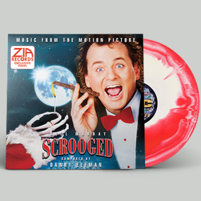 Danny Elfman Scrooged(red & White Swirl) Zia Records & Bull Moose Co Exclusive Limited To 300