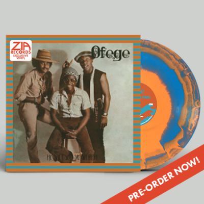 Ofege How Do You Feel(orange & Blue Swirl) Zia Exclusive Limited To 100