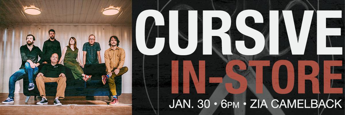 Cursive at Camelback January 30