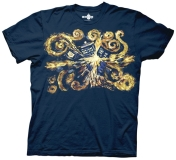 T Shirt Lg Doctor Who Van Gogh The Pandoric Opens