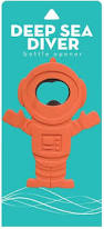 Bottle Opener Deep Sea Diver