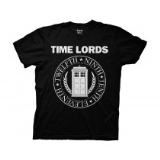 T Shirt Lg Doctor Who Time Lords Circular Seal