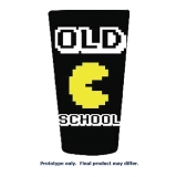 Pint Glass Pac Man Old School