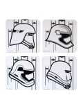 Coaster Set Star Wars Stormtrooper Set Of 4