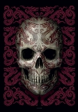 Textile Posters Anne Stokes Oriental Skull