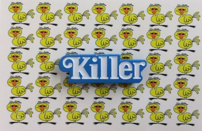 Enamel Pin Killer
