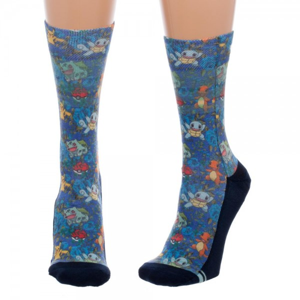 Socks Pokemon Floral