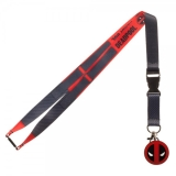 Lanyard Marvel Deadpool Suit Up Textured
