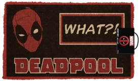 Door Mat Marvel Deadpool What?