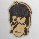 Wood Ornament David Bowie